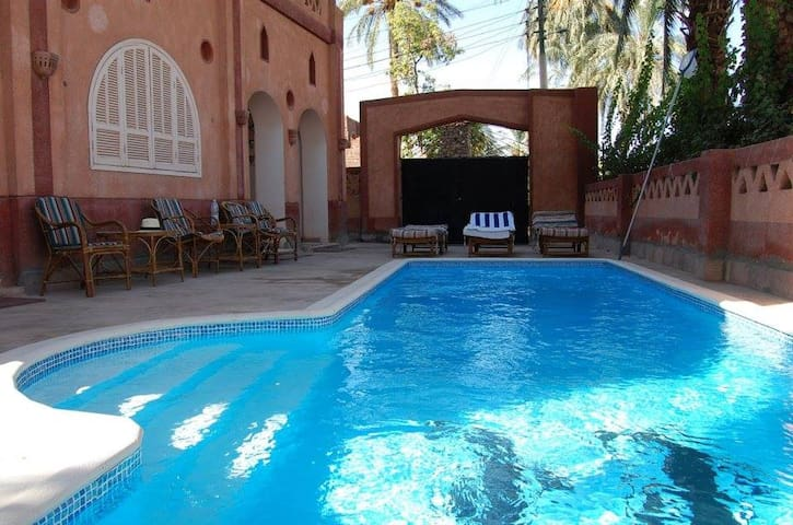 Villa on the Shore of the Nile with Private Pool