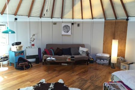 Yurt in the Catskills! - Palenville - Khemah Yurt