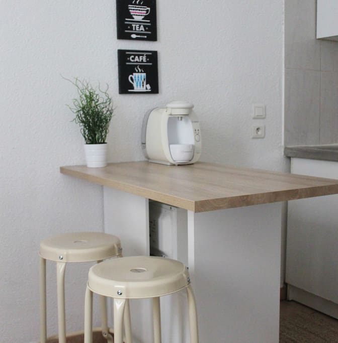 coin repas/kitchenette