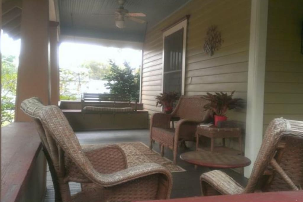 Front porch - full view