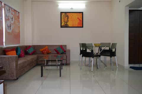 SHAGUN FLATS GIVES U SUKUN. A 02 BHK FLAT. SF-202.