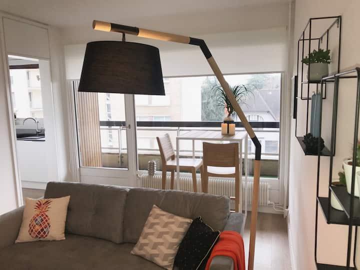 Joli appartement neuf et cosy à 10 mn de Lille