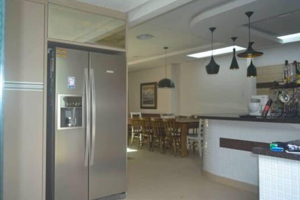 Cozinha + Salão de Festas