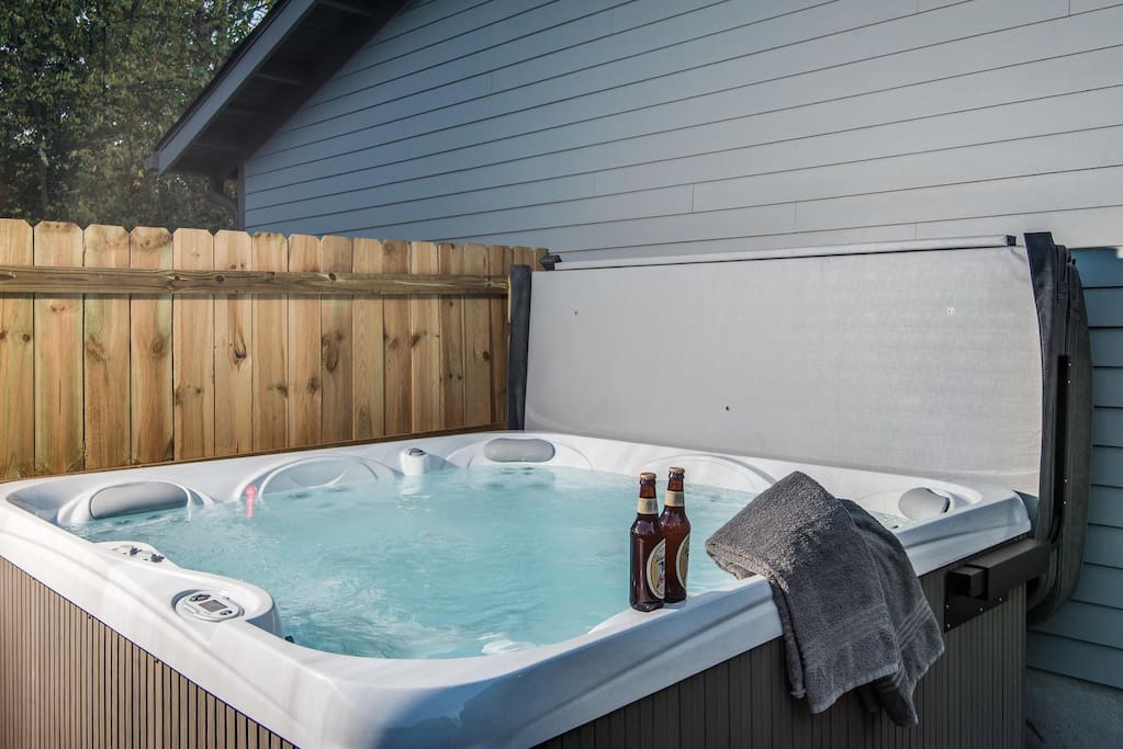 Can't Wait to Get In the HOT TUB!