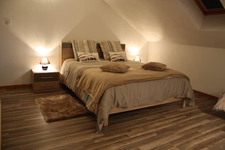 Gîte l'Annexe, appartement rénové et calme - Crotenay - Ev
