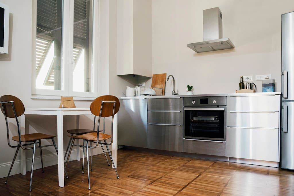 angolo cottura / kitchen in living room