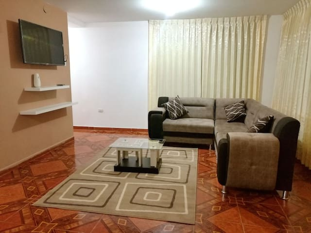FURNISHED APT/FREE WIFI , CABLE 2nd FLOOR