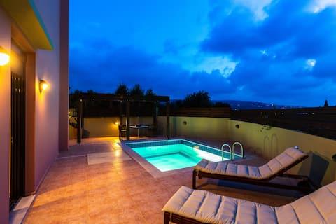 Cretan Royalty - Люкс с частным бассейном