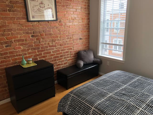 Private Bedroom in Charming Remington Rowhouse