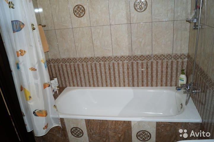 Большая ванная комната.