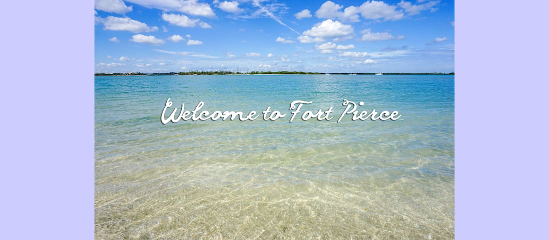 Beach & the Marina nearby! - Fort Pierce - House
