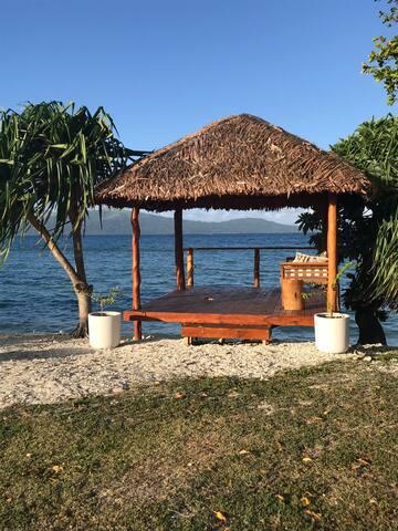 Beach hut (nakamal)