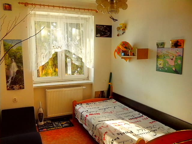 Cosy Room for One Traveler - Karlovy Vary nearby - Chodov - Apartament