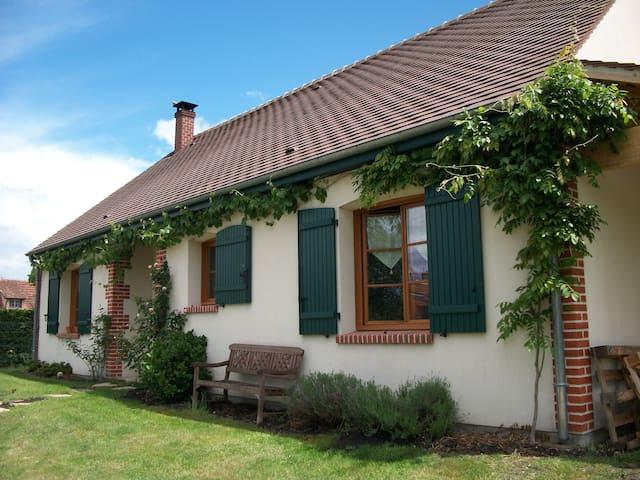 Belle chambre confortable  chez l'habitant - La Ferté-Beauharnais - Rumah