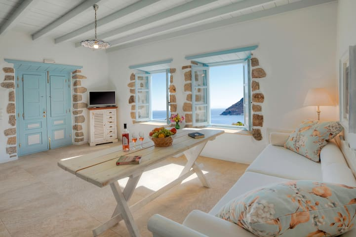 Theologos Houses - Patmos Island - Hus