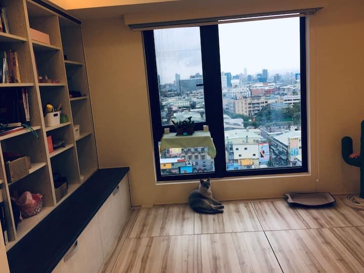 開放式和室,景觀101、新光三越房Taipei 101 View room