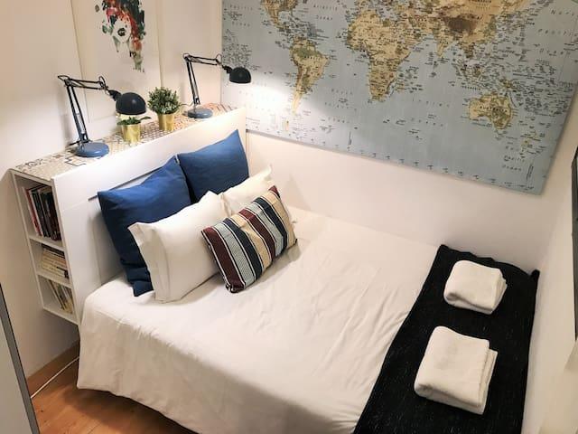 Cozy flat in prime location! Auto check-in