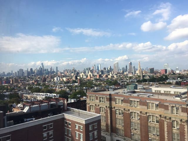 Elegant 1 BR with amazing view in Park Slope