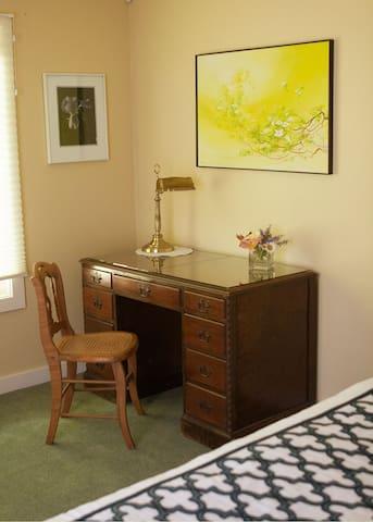 Guest Suite #1 Work Desk
