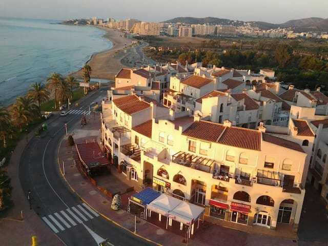 The apartment is placed 100 meters from the beach.