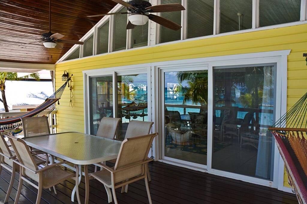 One of West Bay`s premier beach front villas.