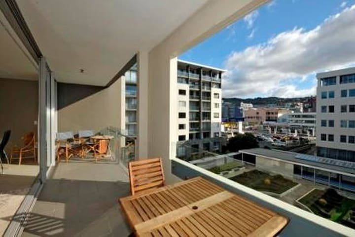 Large bedroom luxury apartment (Super King Bed) - Wellington - Apartamento