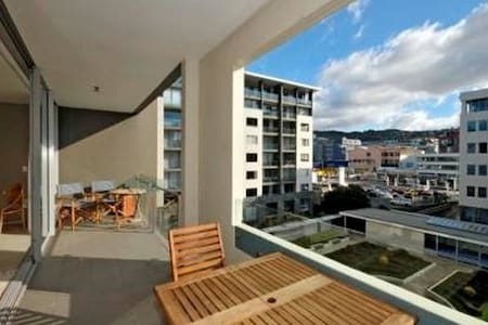 Large bedroom luxury apartment (Super King Bed) - Wellington