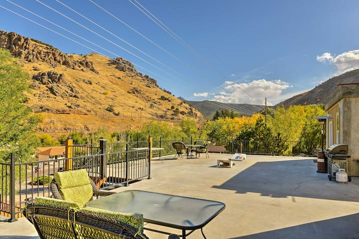Lava Hot Springs Studio w/Views - Walk to River