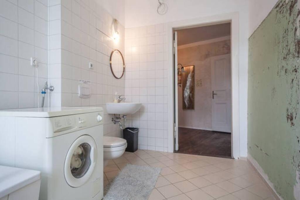 A clean bathroom!