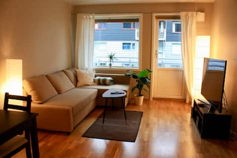 Modern apartment close to the center of Trondheim
