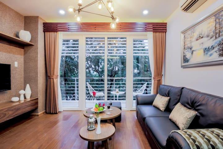 Luxury Serviced Apt,  2BR in city central- R 72A. - Ciudad de Ho Chi Minh - Apartamento