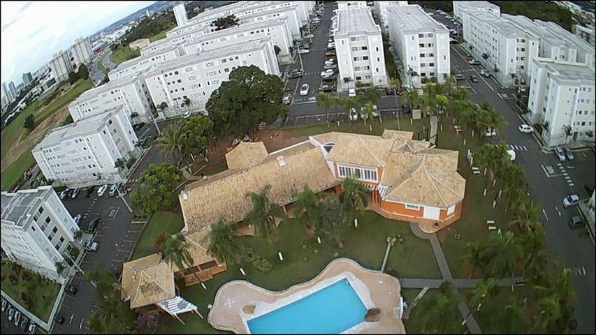 Quarto privativo em apartamento, Sorocaba/Votorant