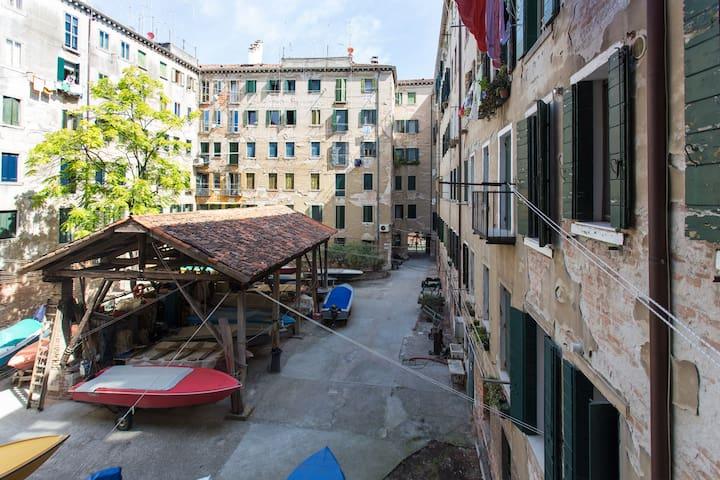 Typical Venetian apartment