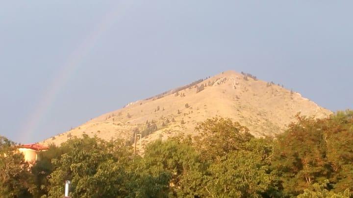 Stilvi, Spilia, Greece -Mountain,Sea, Hiking.