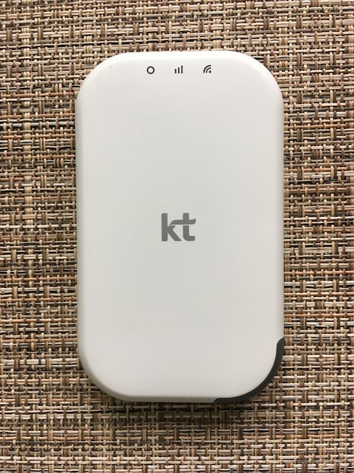 Free pocket WIFI for guests to get around Seoul!