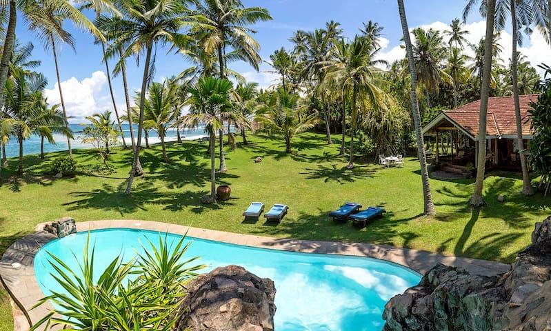 VILLA WELIGAMA  Stunning beachfront holiday villa