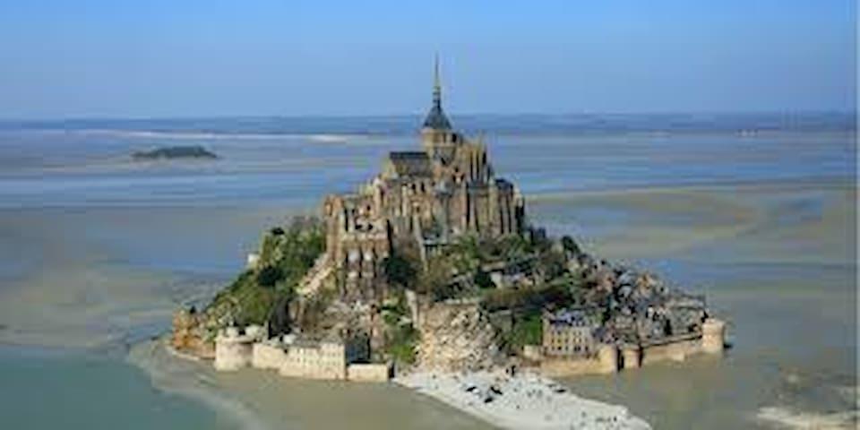 Chambre proche mont Saint Michel