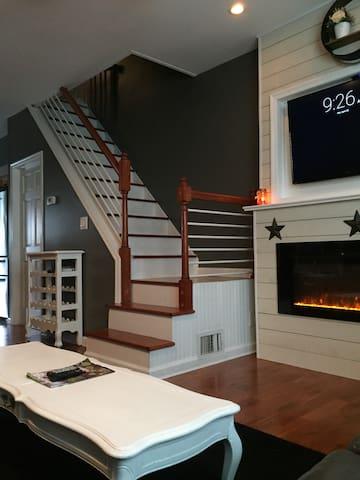 Cozy home CLOSE TO EVERYTHING(Fillmore,Stadiums..) - Philadelphia - Huis