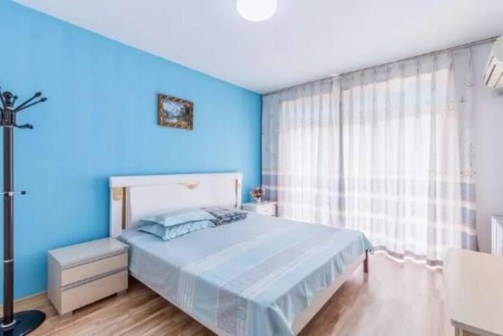 【微蓝の家】国际浴场海边温馨二居室