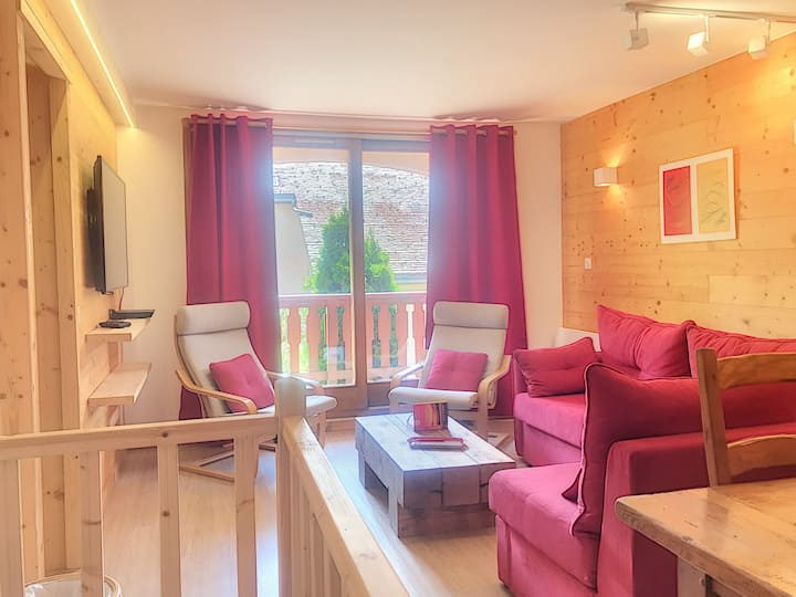 3 room apartment of 66m², duplex, for 4 people