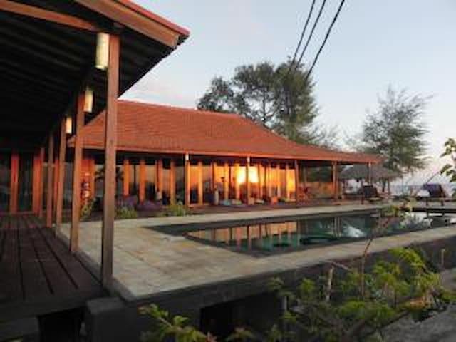 Luxurious verandas