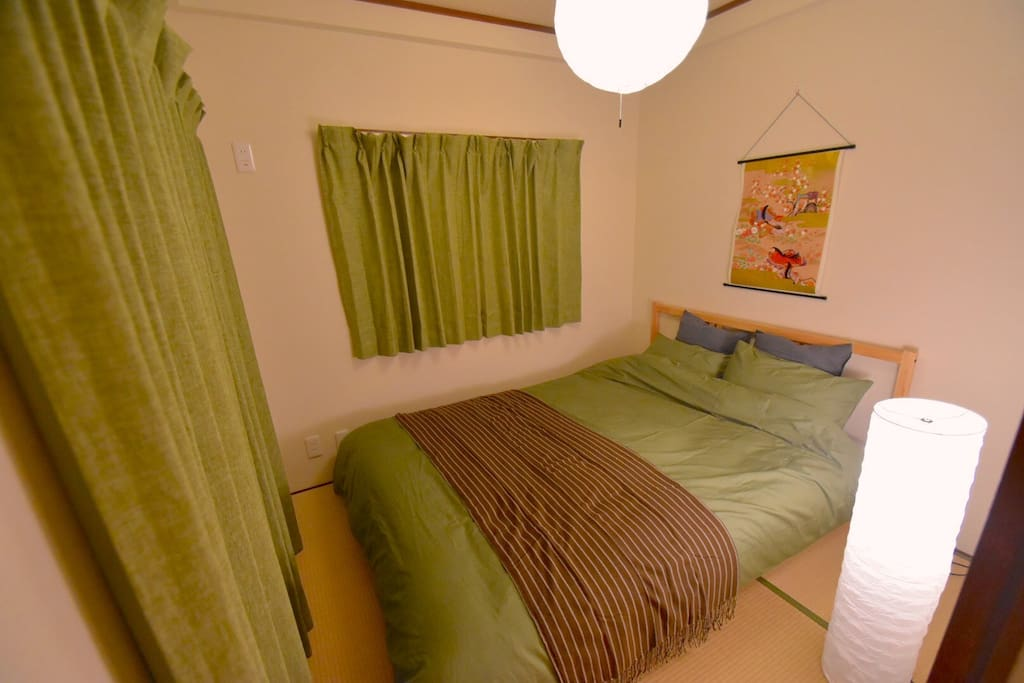 【Bed room 2】double size bed.