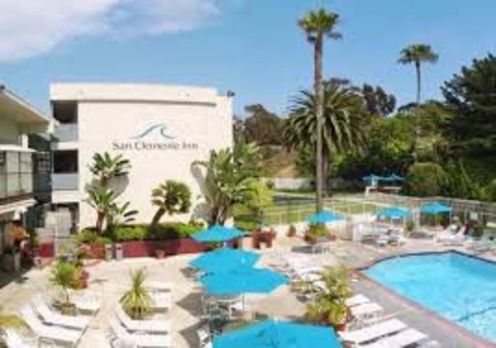 Pool, hot tub,  tennis, workout facility