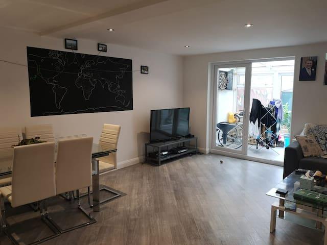 Pet friendly vegan double room