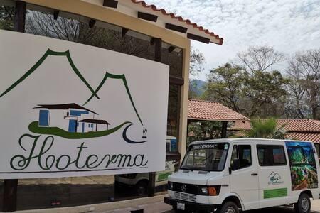 HOTERMA AGUAS TERMALES (un lugar para descansar)