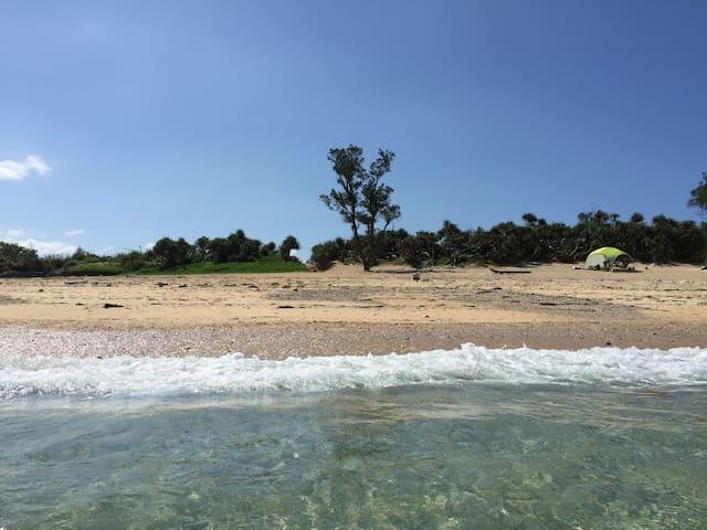 朝日が水平線から昇る!ほとんど人がいない静かな浜辺でキャンプステイ。 - Higashi - Tenda