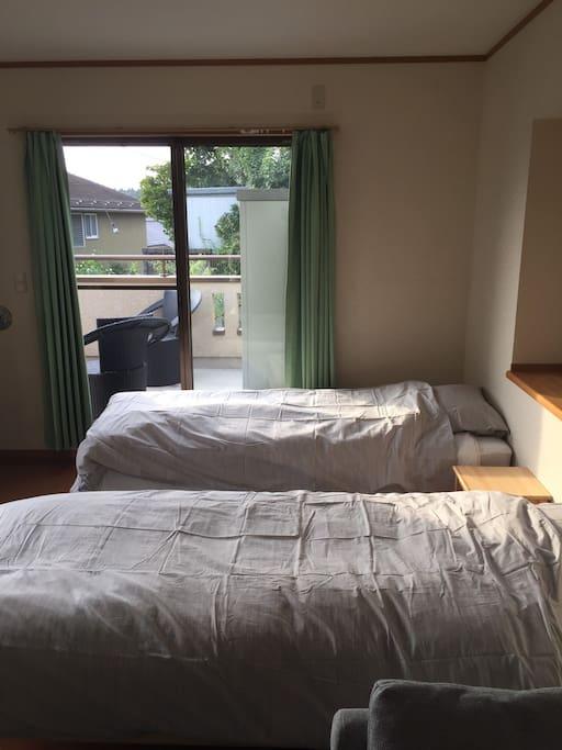 Guest room: Fuji (Wisteria)