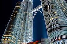 Petronas Twin Tower(1km) 双子塔(1.5公里)