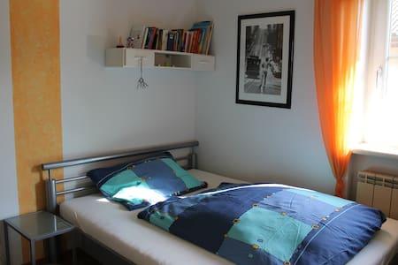 Einfaches Doppelzimmer an der schönen blauen Donau