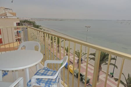 2 bed+garage beach front apartment - Los Cuarteros - Apartamento